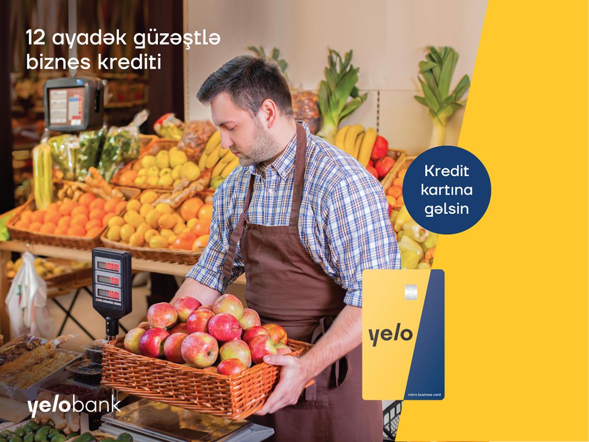 12 ayadək güzəştli biznes krediti kartınıza gəlsin!