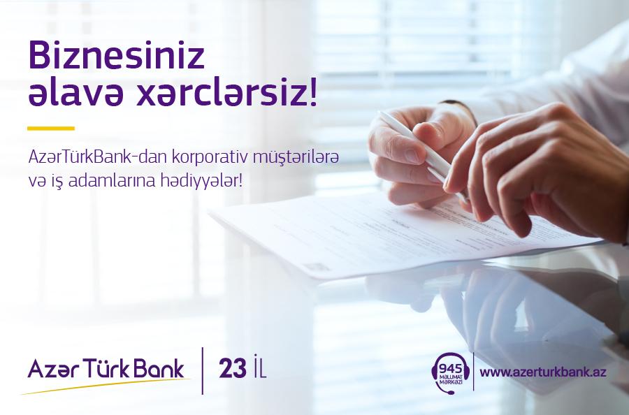 Azər Türk Bank korporativ müştərilərə maaş kartlarını pulsuz verəcək