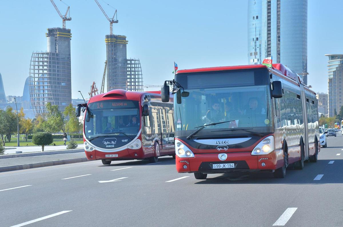 Sabahdan avtobusların fəaliyyəti dayandırılır