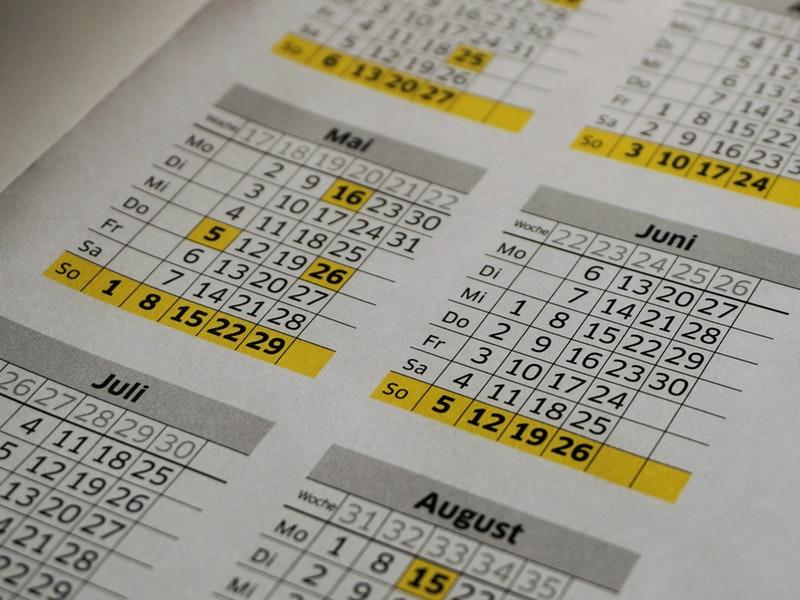 Как появились названия месяцев в календаре