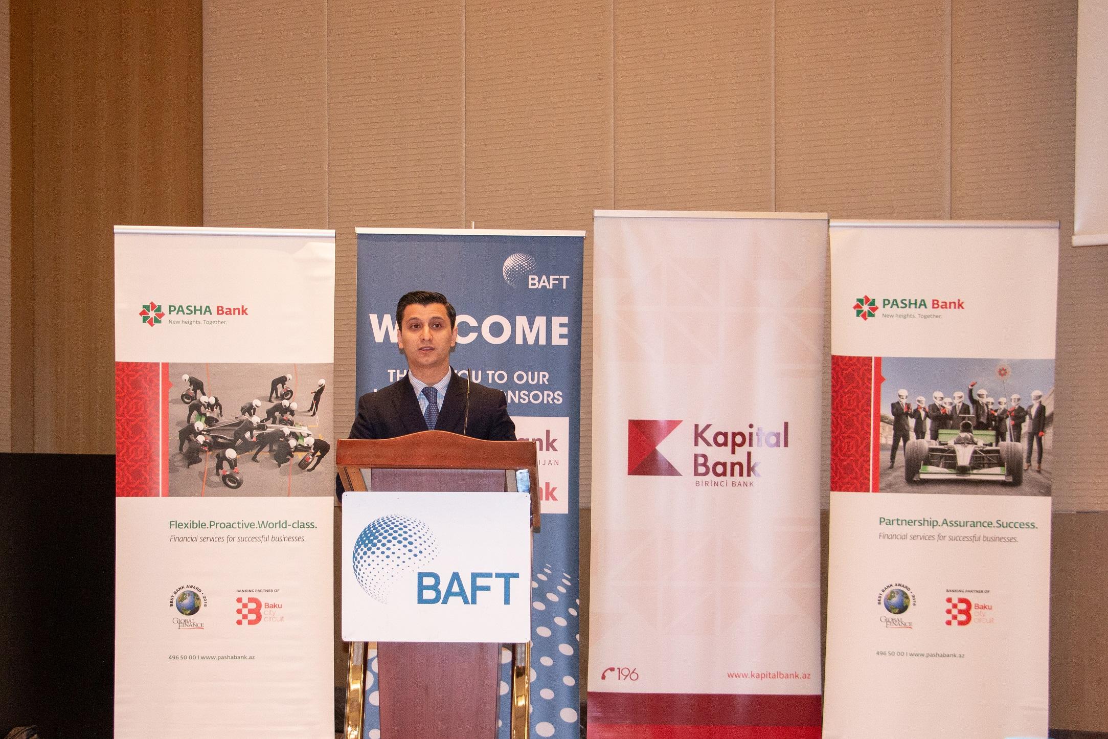 PAŞA Bankın tərəfdaşlığı ilə beynəlxalq BAFT seminarları keçirildi