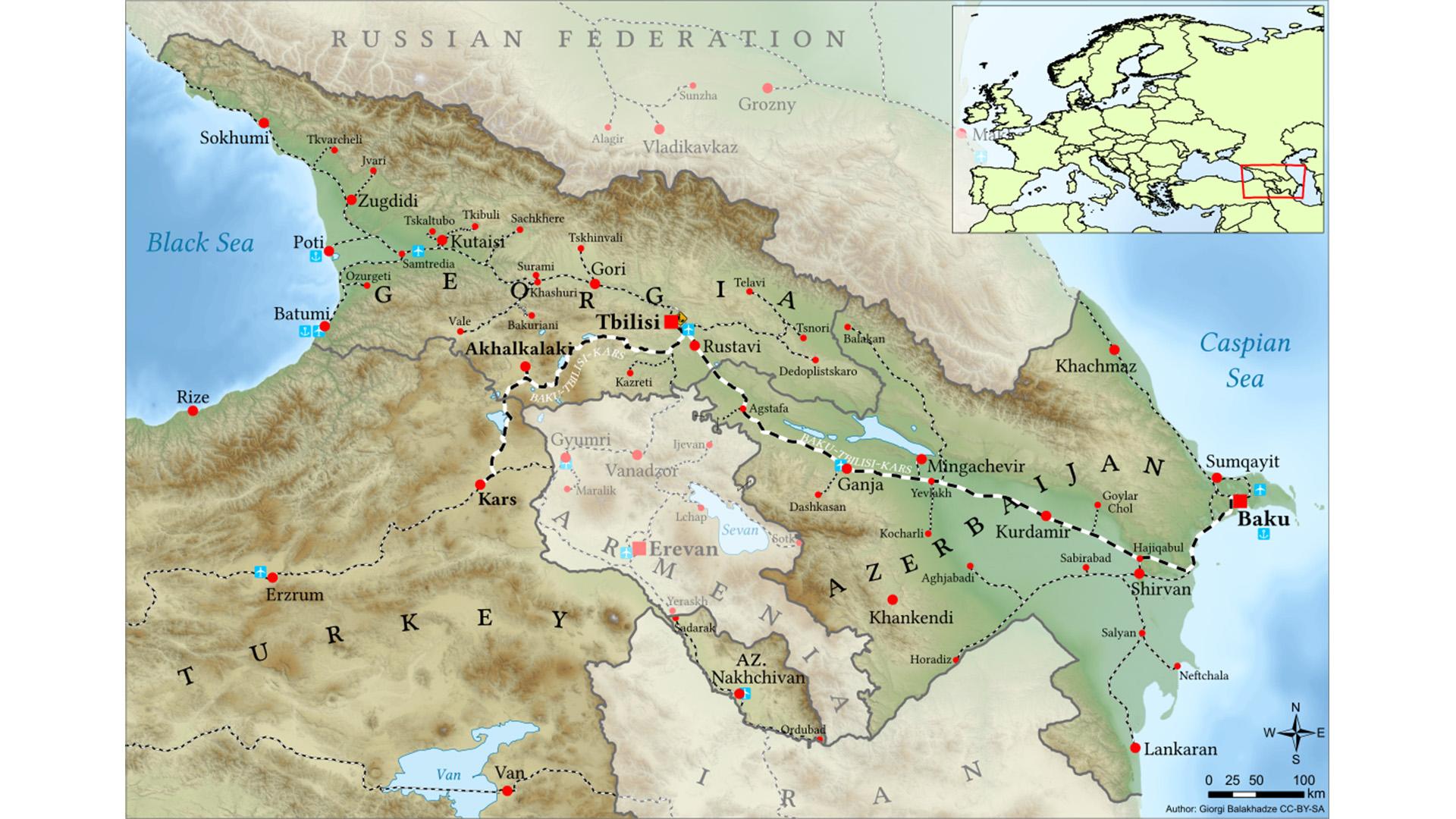 Bakı-Tbilisi-Qars dəmir yoluna əlavə yüklərin cəlb olunması barədə razılıq əldə edilib