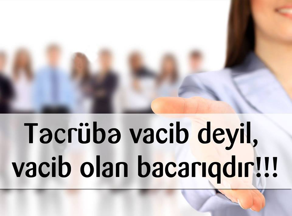 Bank Respublika TƏCRÜBƏ PROQRAMI elan edir.
