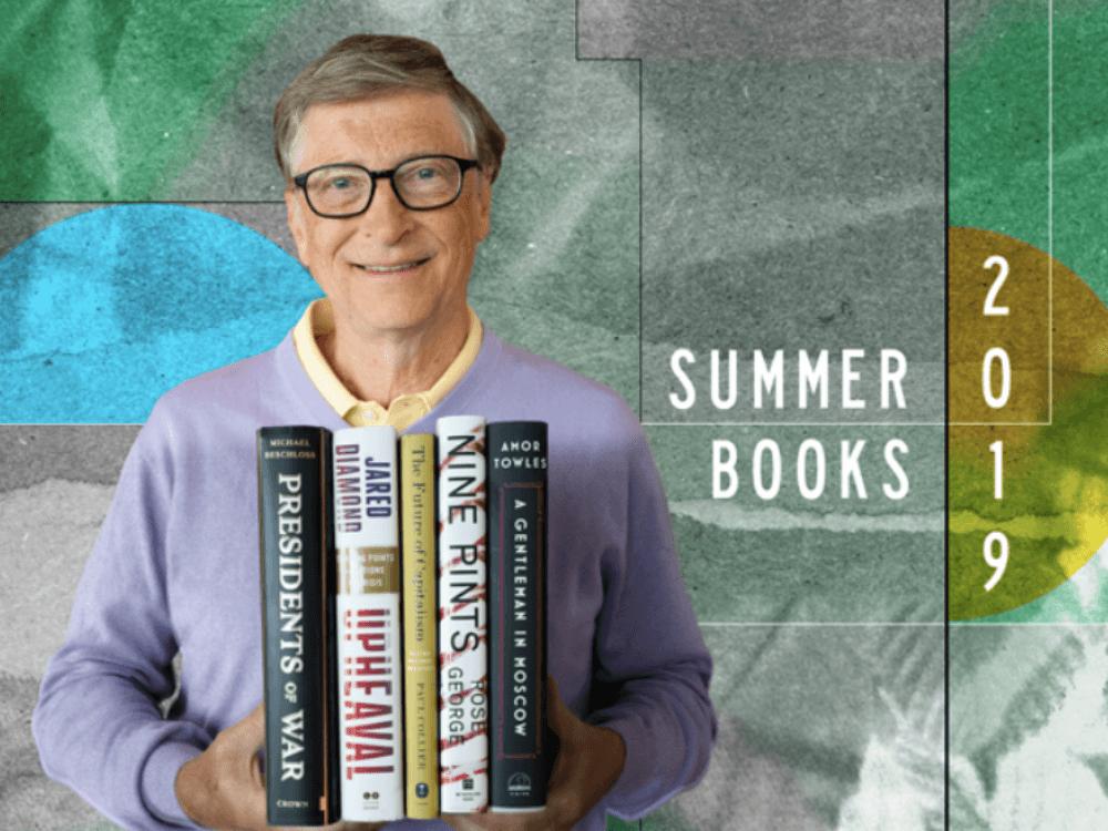 2019 yayı üçün Bill Qeyts-dən 5 kitab tövsiyəsi