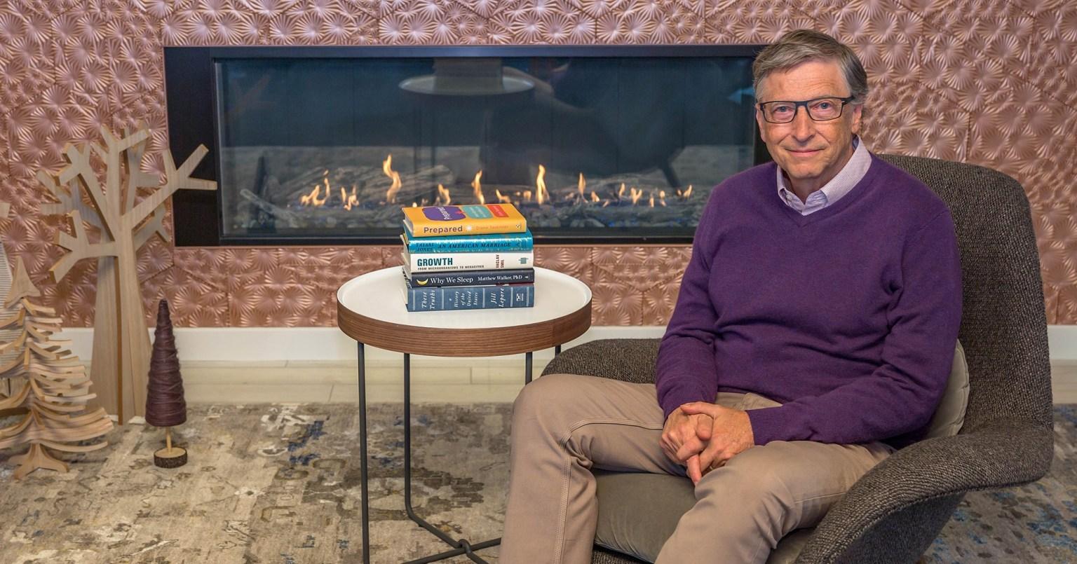 Bill Qeyts 2020-ci ilin qışında bu 5 kitabı oxumağı tövsiyə edir