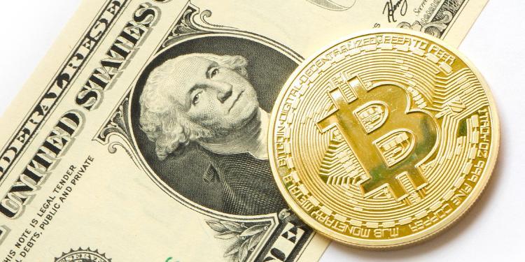 Bitkoin 10 min dollardan aşağı düşüb