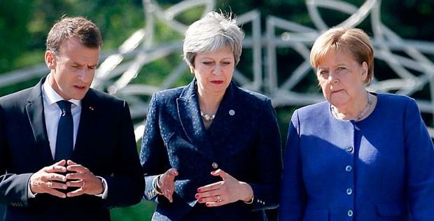 Breksitin uzadılması: Mey, Merkel və Makronla görüşəcək