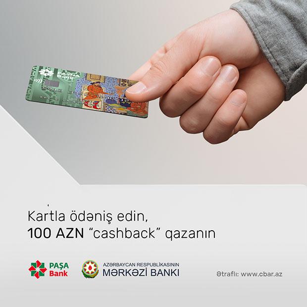 Ödənişləri PAŞA Bank kartı ilə etmək üçün daha bir səbəbiniz var!
