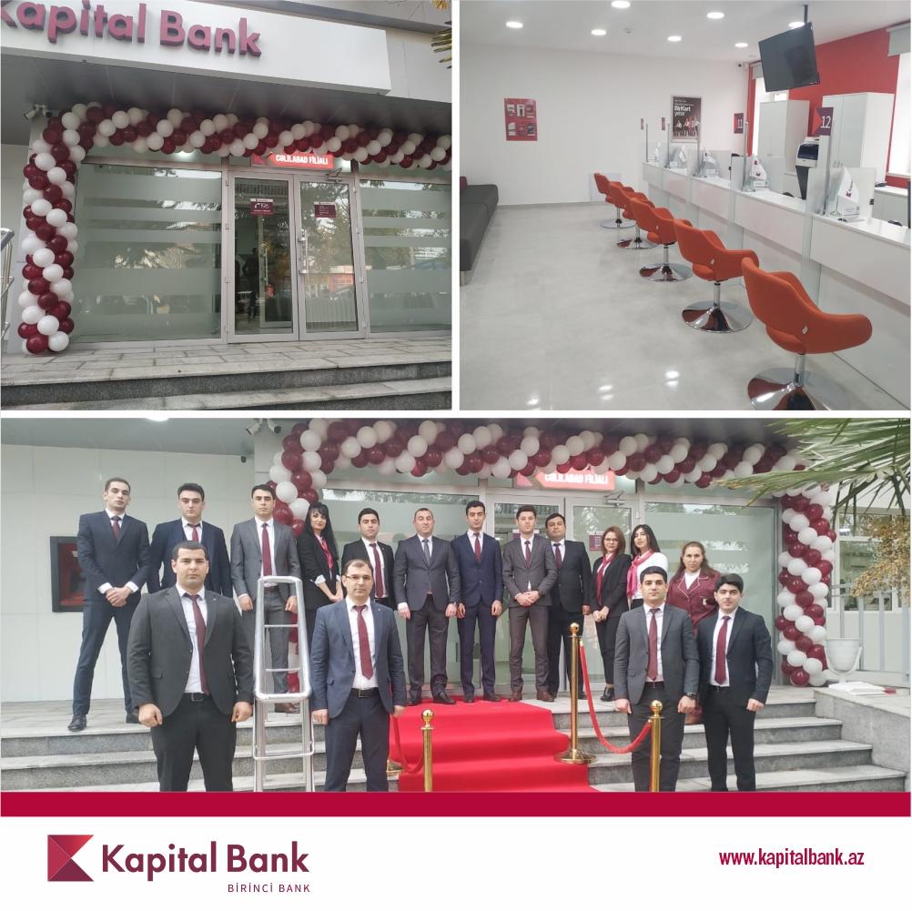 KapitalBank представил обновленный филиал в Джалилабаде