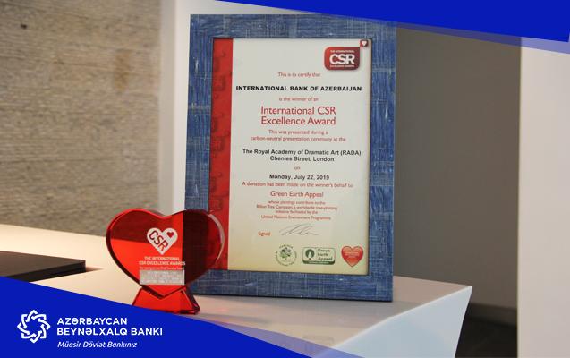 Социальный проект Международного Банка Азербайджана получил международную награду