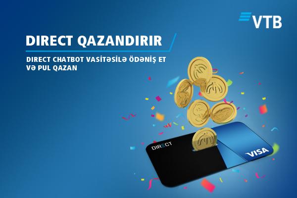 ВТБ (Азербайджан) запускает акцию для пользователей чат-бот
