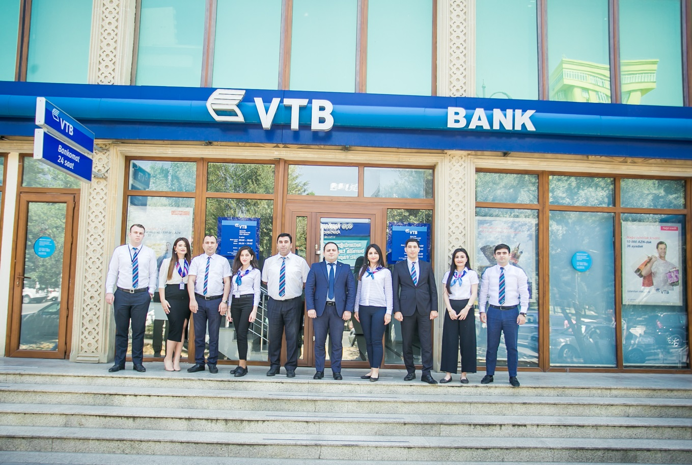 """Bank VTB Azərbaycan –ın """"Əcəmi"""" filialı müştərilərə istirahət günlərində də xidmət göstərəcək"""