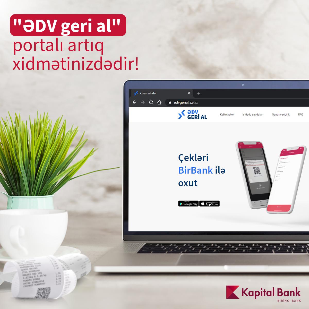 Налоговая служба при финансовом партнерстве Kapital Bank будет возвращать часть НДС