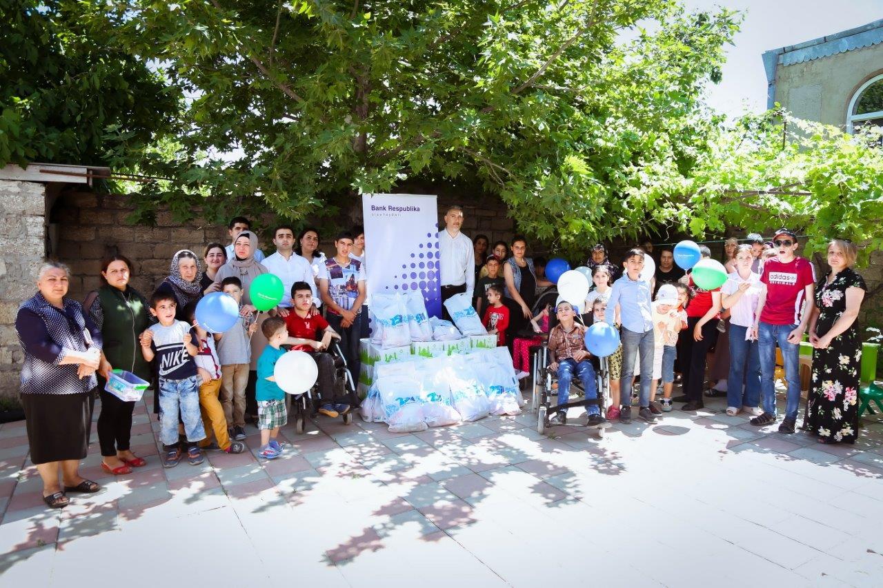 Банк Республика провел социальную акцию в поселке Сарай
