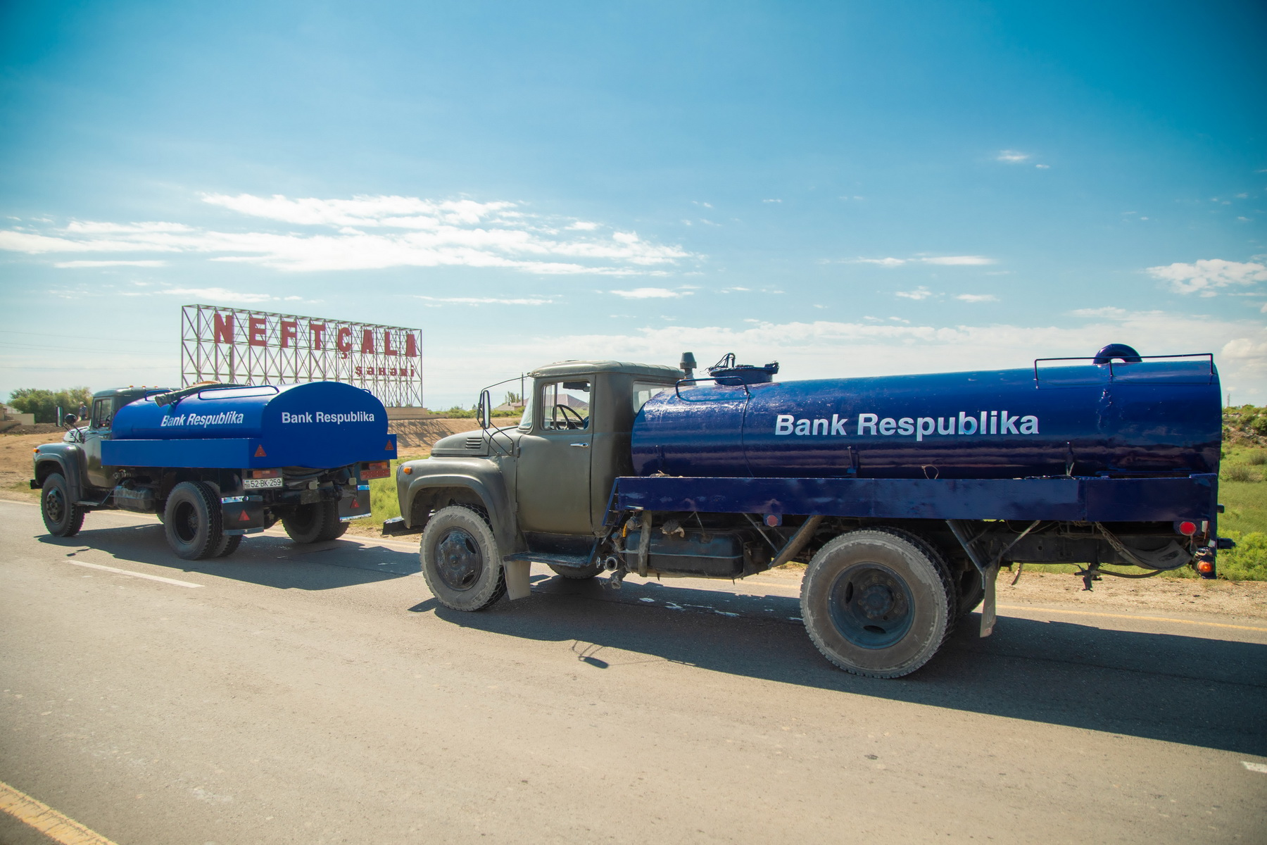Bank Respublika Neftçala sakinlərinə içməli su təminatı ilə bağlı dəstək oldu!