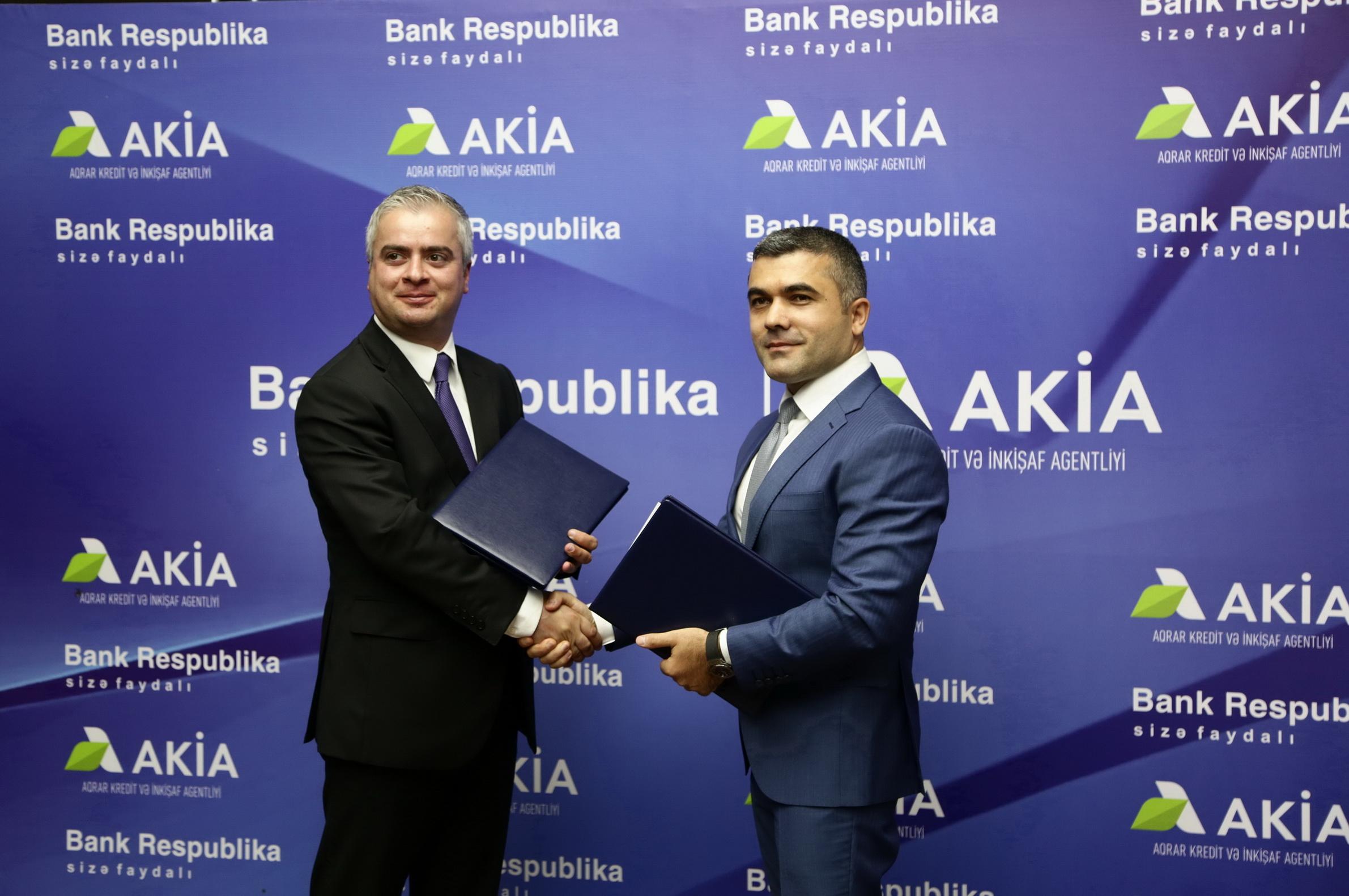 Банк Республика и AKIA будут реализовывать совместные проекты для предпринимателей