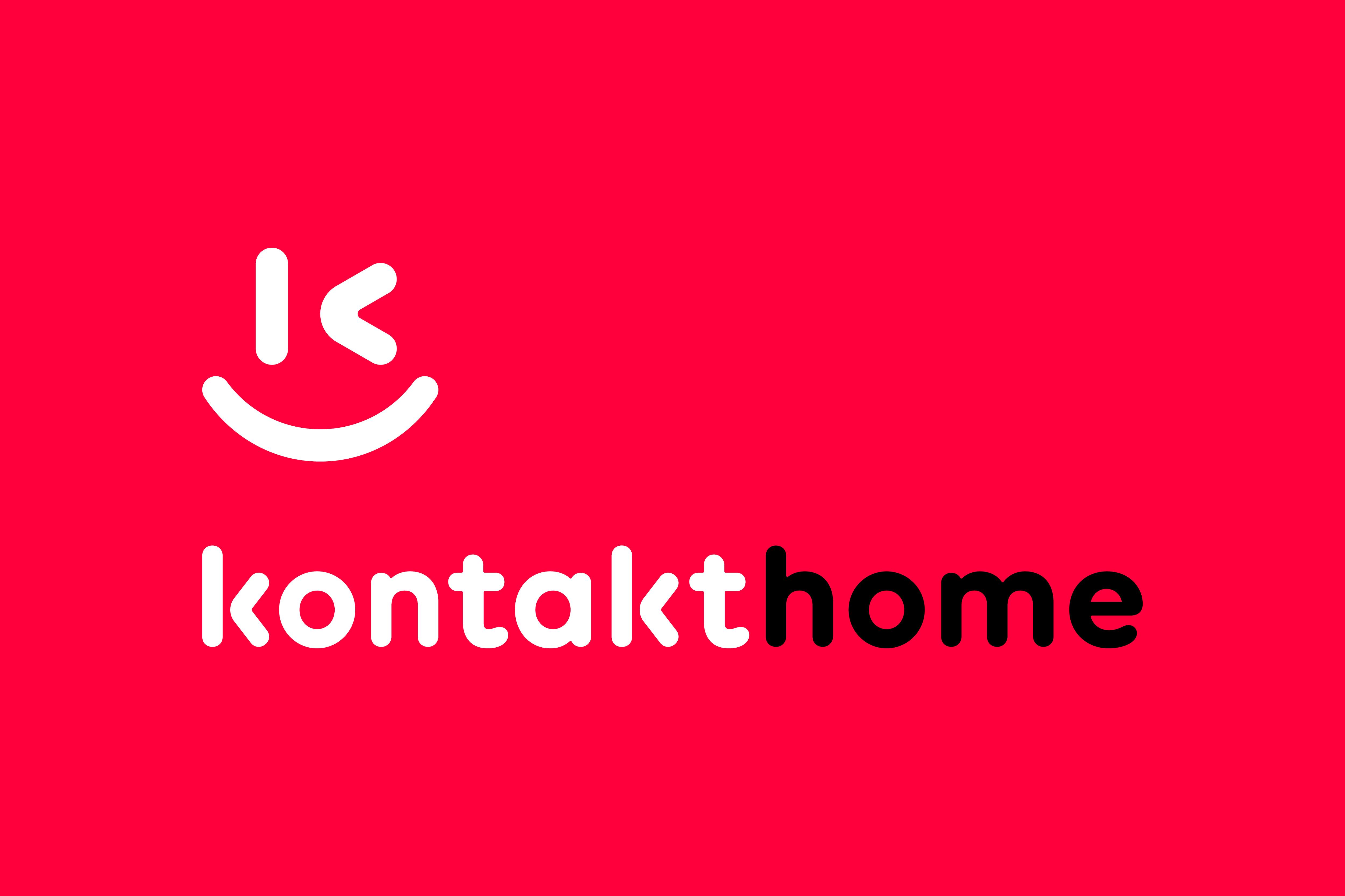 «Kontakt Home» представил новый радостный логотип