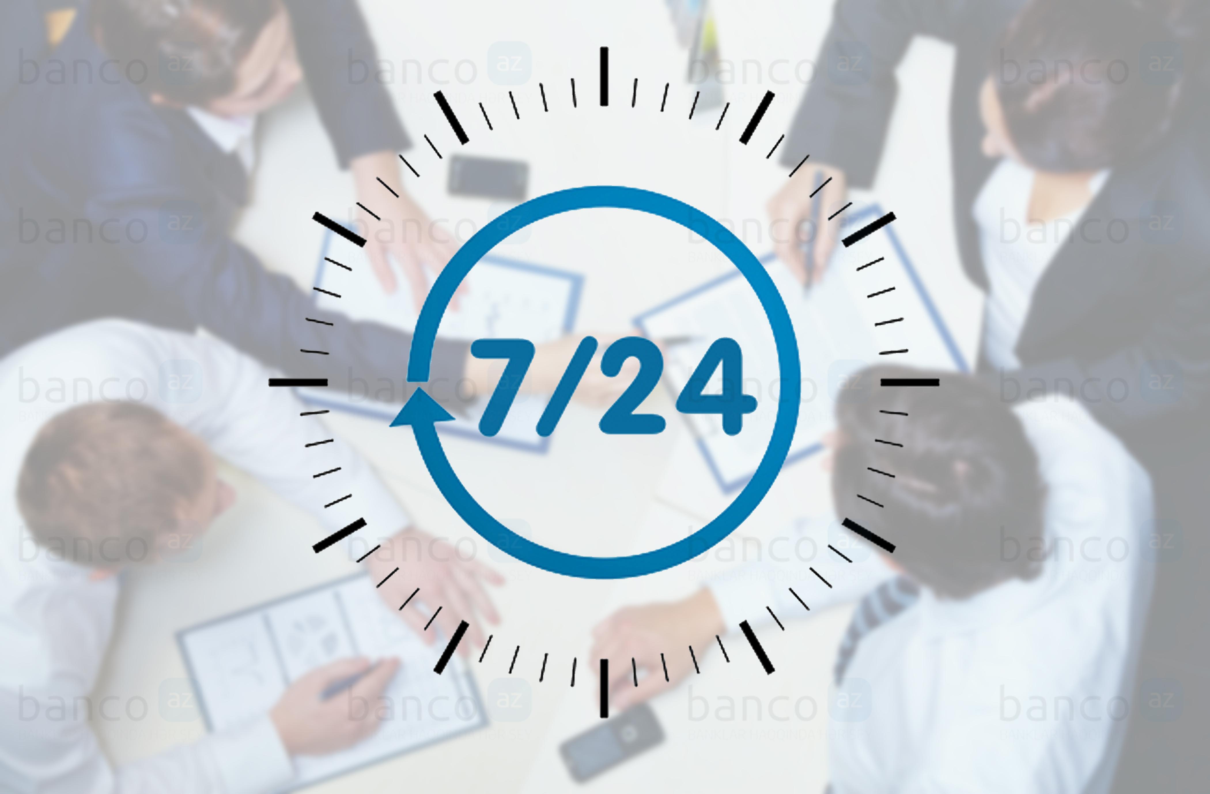 Hansı banklar 24 saat işləyir?