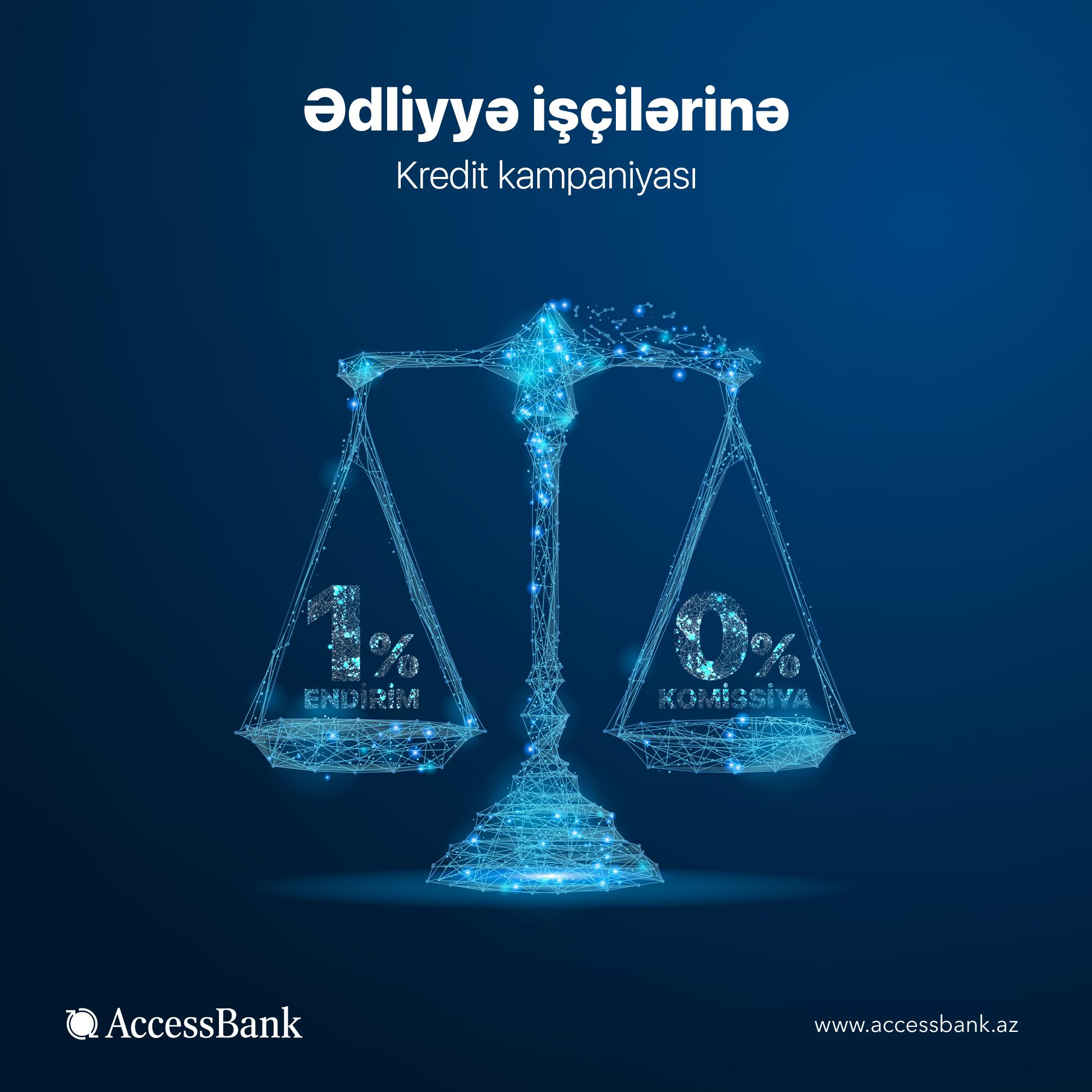 AccessBank-dan ədliyyə işçilərinə xüsusi təklif!