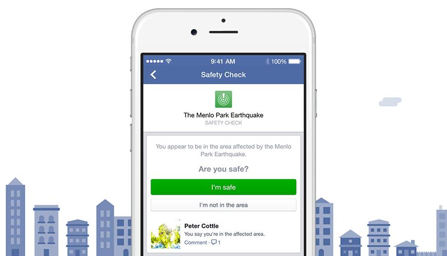 """Facebook""da ""Safety Check"" funksiyası daimi olacaq"