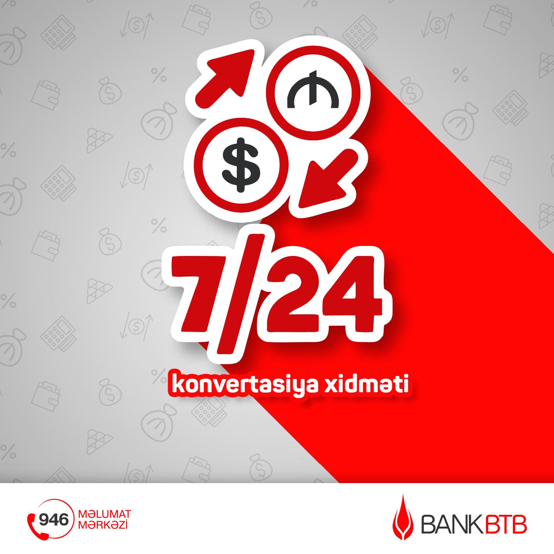 Bank BTB предлагает новую услугу в системе İnternet Bankinq