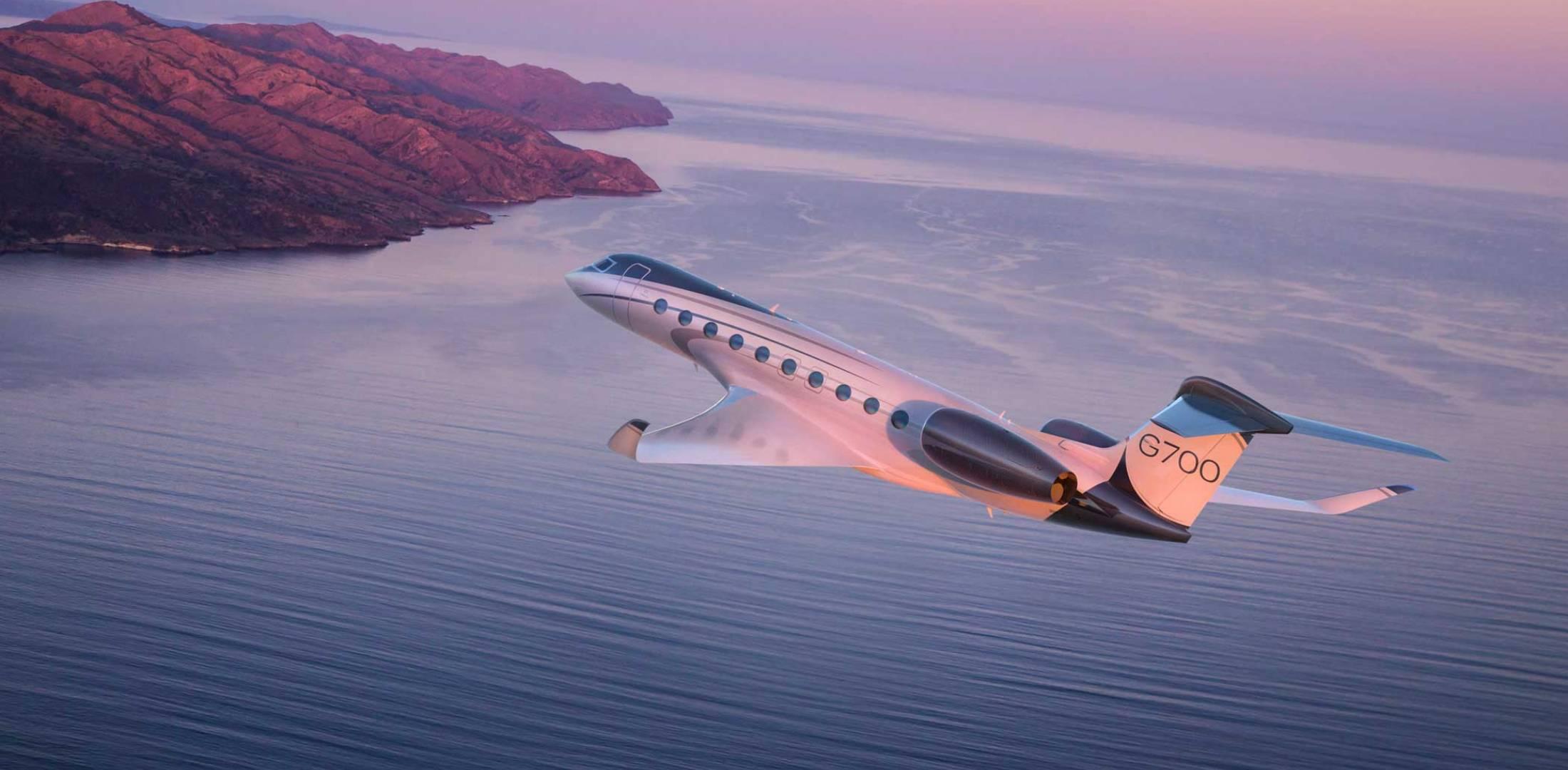 """""""Gulfstream"""" ən bahalı biznes jetini təqdim etdi"""
