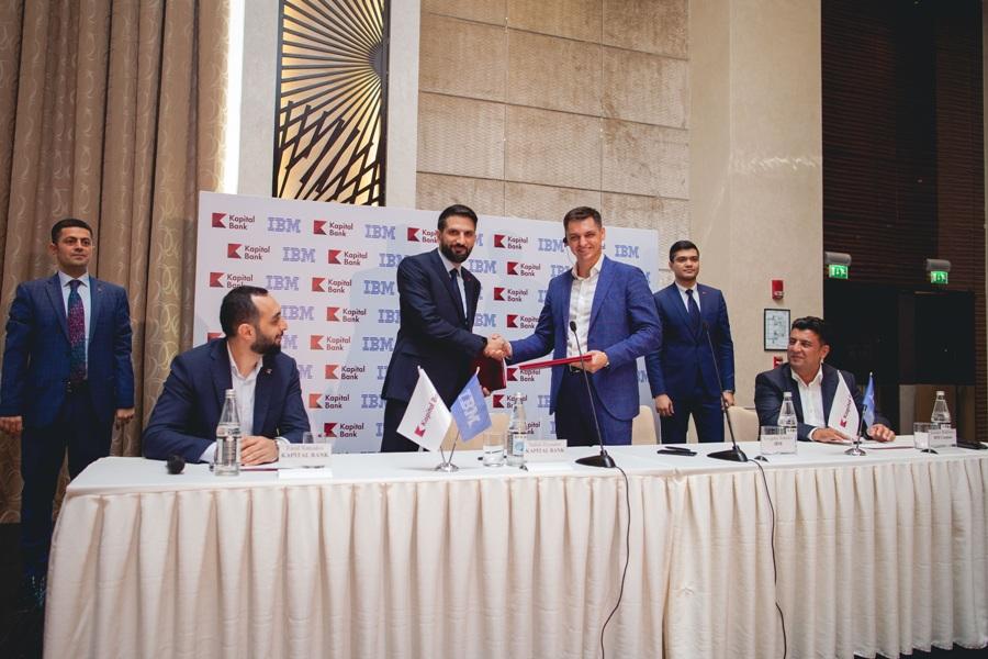Kapital Bank подписал меморандум с крупнейшей мировой компанией