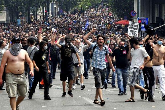 Yunanlar Avropanı bağışlamayacaq