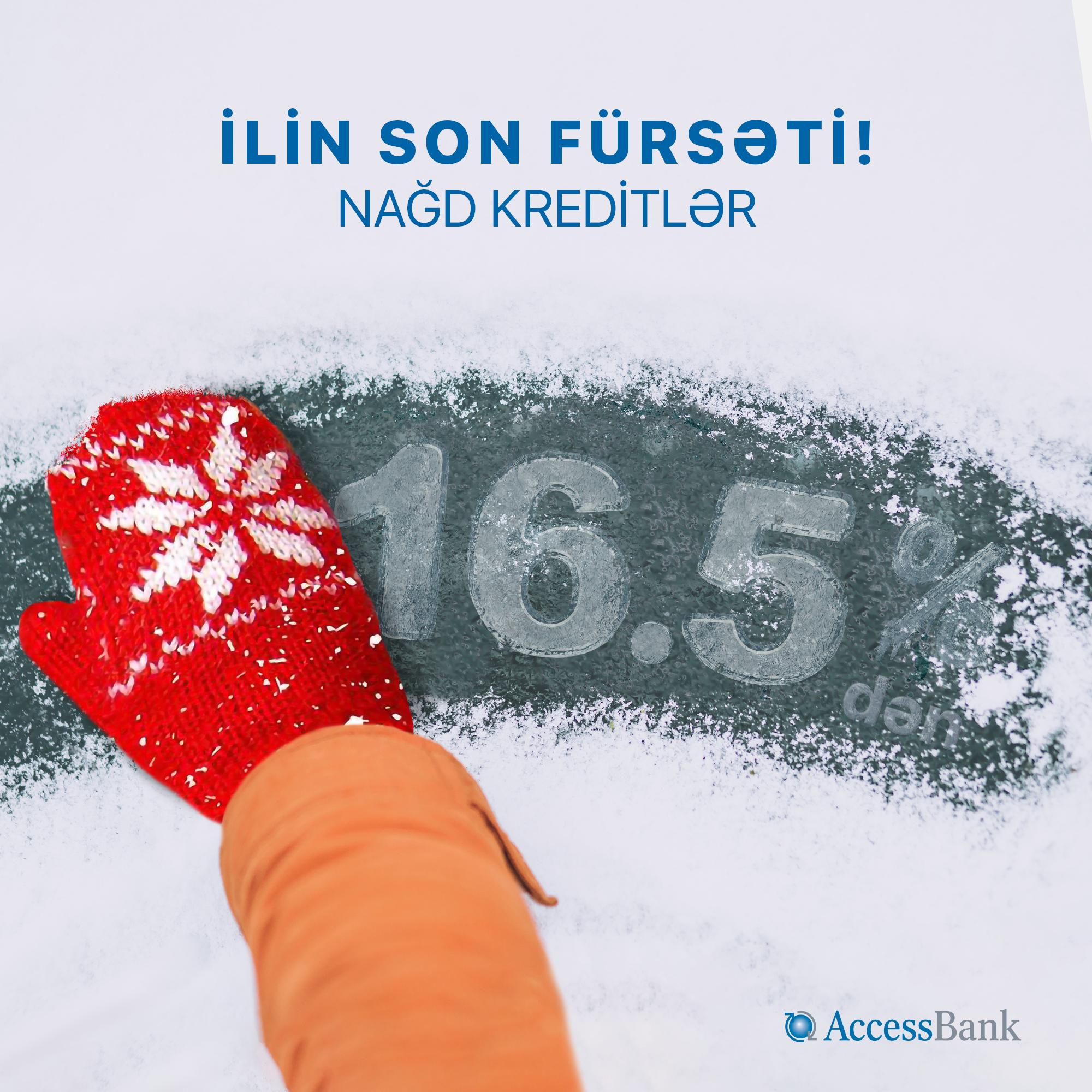 AccessBank-dan ilin son fürsəti!