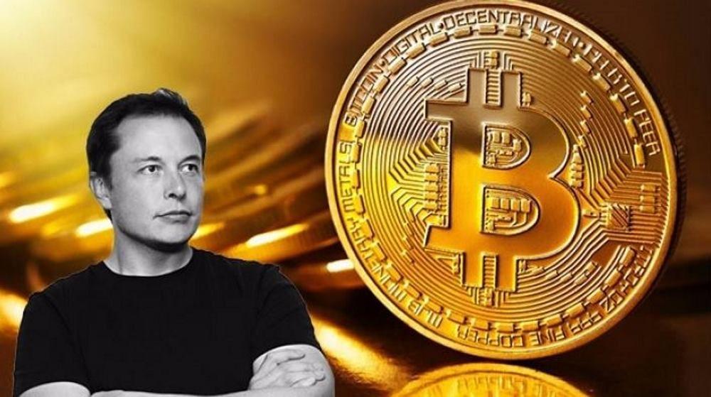 İlon Maskın tviti Bitkoinin qiymətini ucuzlaşdırdı
