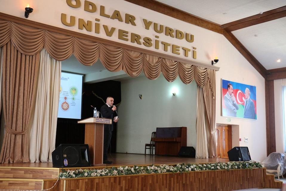 """EnterpriseAzerbaijan.com portalı """"Odlar Yurdu"""" Universitetində startap təlimi keçirdi"""
