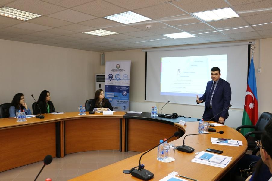 """Enterprise Azerbaijan"" portalı ""Startup marketing"" mövzusunda təlim keçirdi"