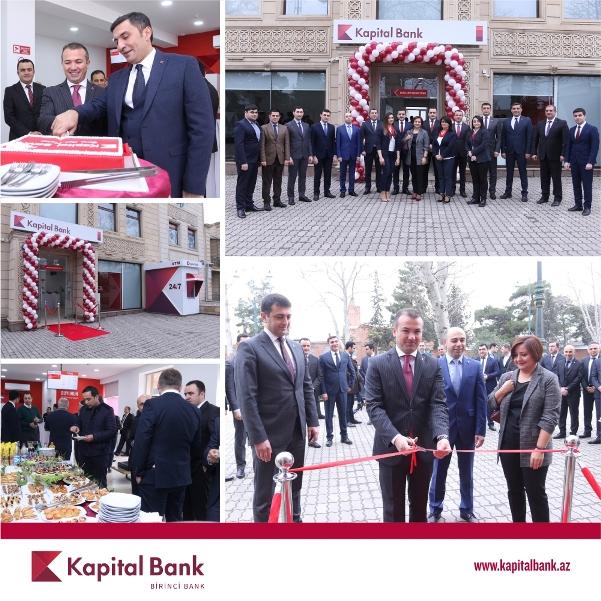 Kapital Bank открыл новый Карточный Центр в Гяндже