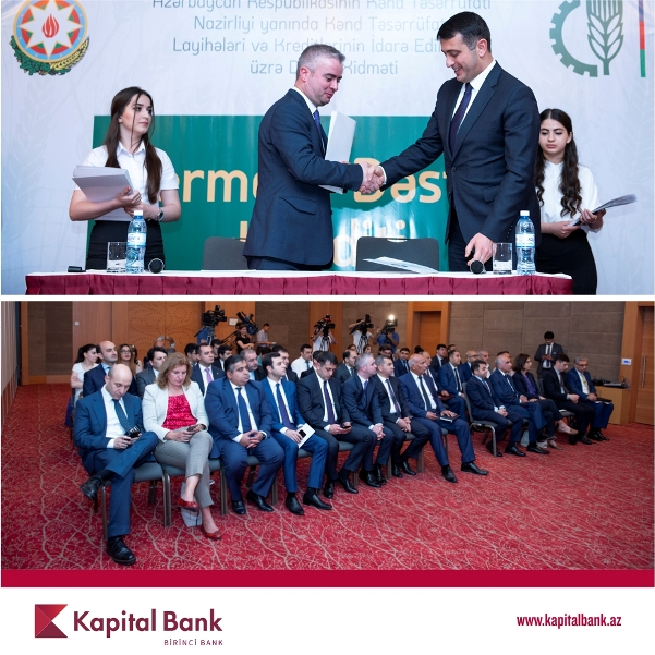 Kapital Bank предлагает фермерам льготные кредиты