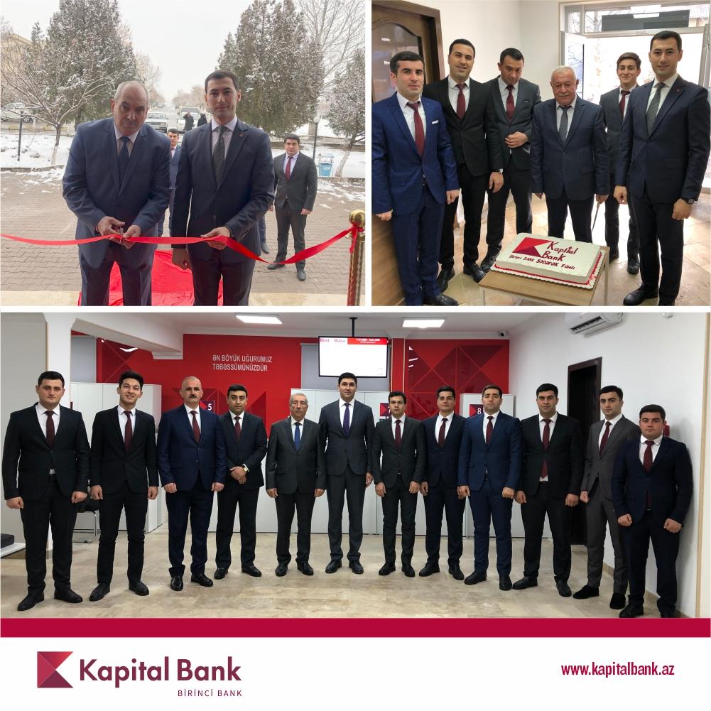Kapital Bankобновил еще 3 филиала вНахчыване