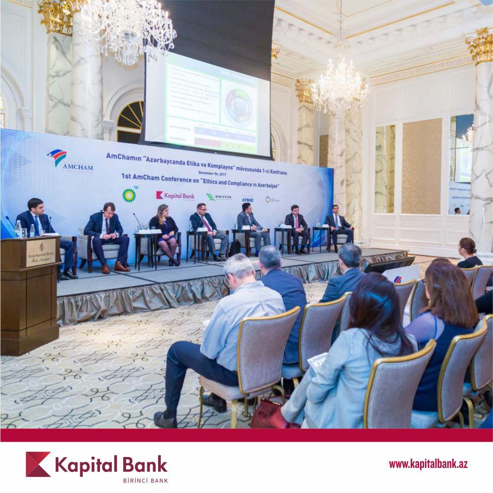 При поддержке Kapital Bank состоялась конференция «Этика и комплайнс в Азербайджане»