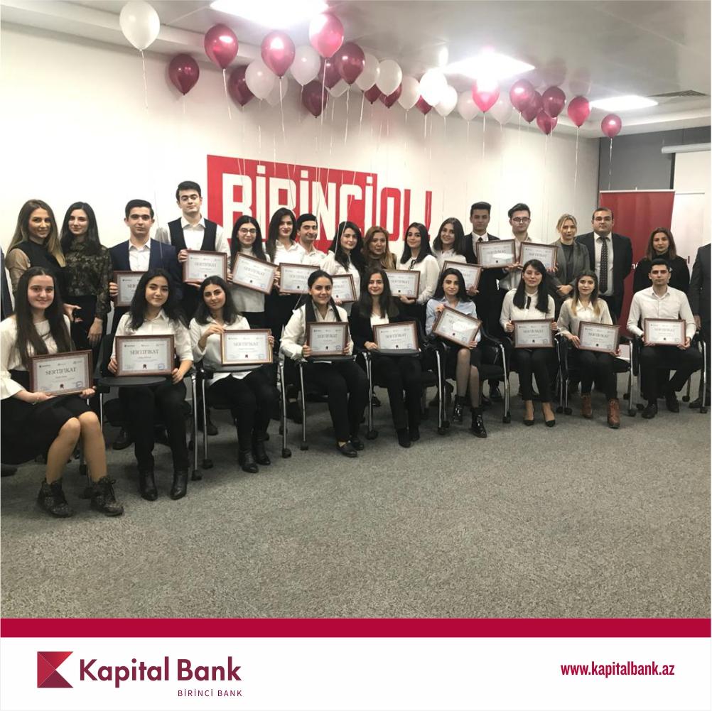 В Kapital Bank состоялся выпускной день проекта «Könüllülər»