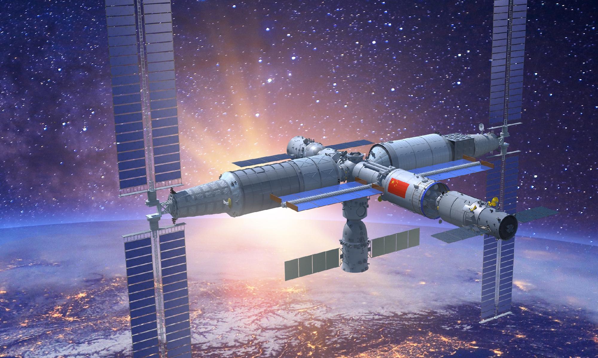 Çin kosmik stansiya inşa etməyə hazırlaşır