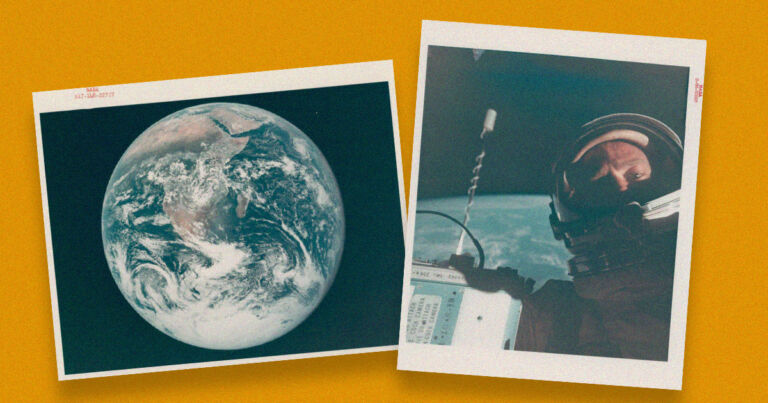 Kosmosda çəkilən ilk
