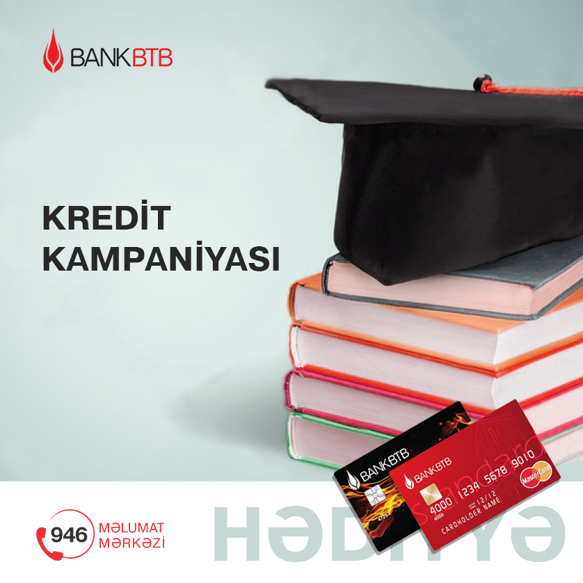 Bank BTB yeni Kredit Kampaniyasına başladı