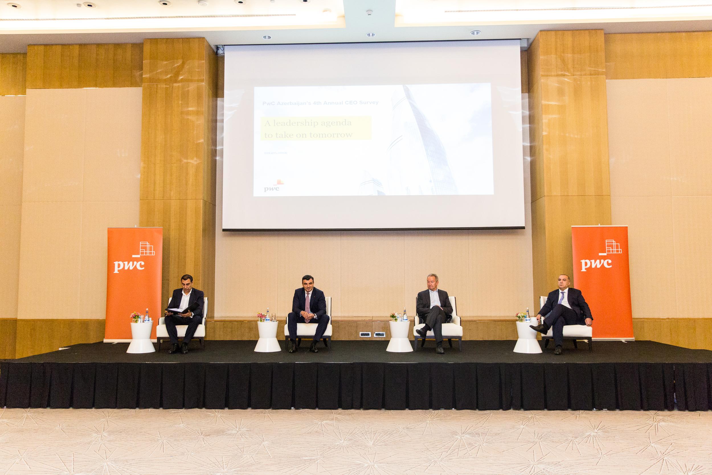 4 Ежегодный опрос руководителей компаний, проведенный PwC Азербайджан: Вопросы повестки дня, которые предстоит принять во внимание завтра