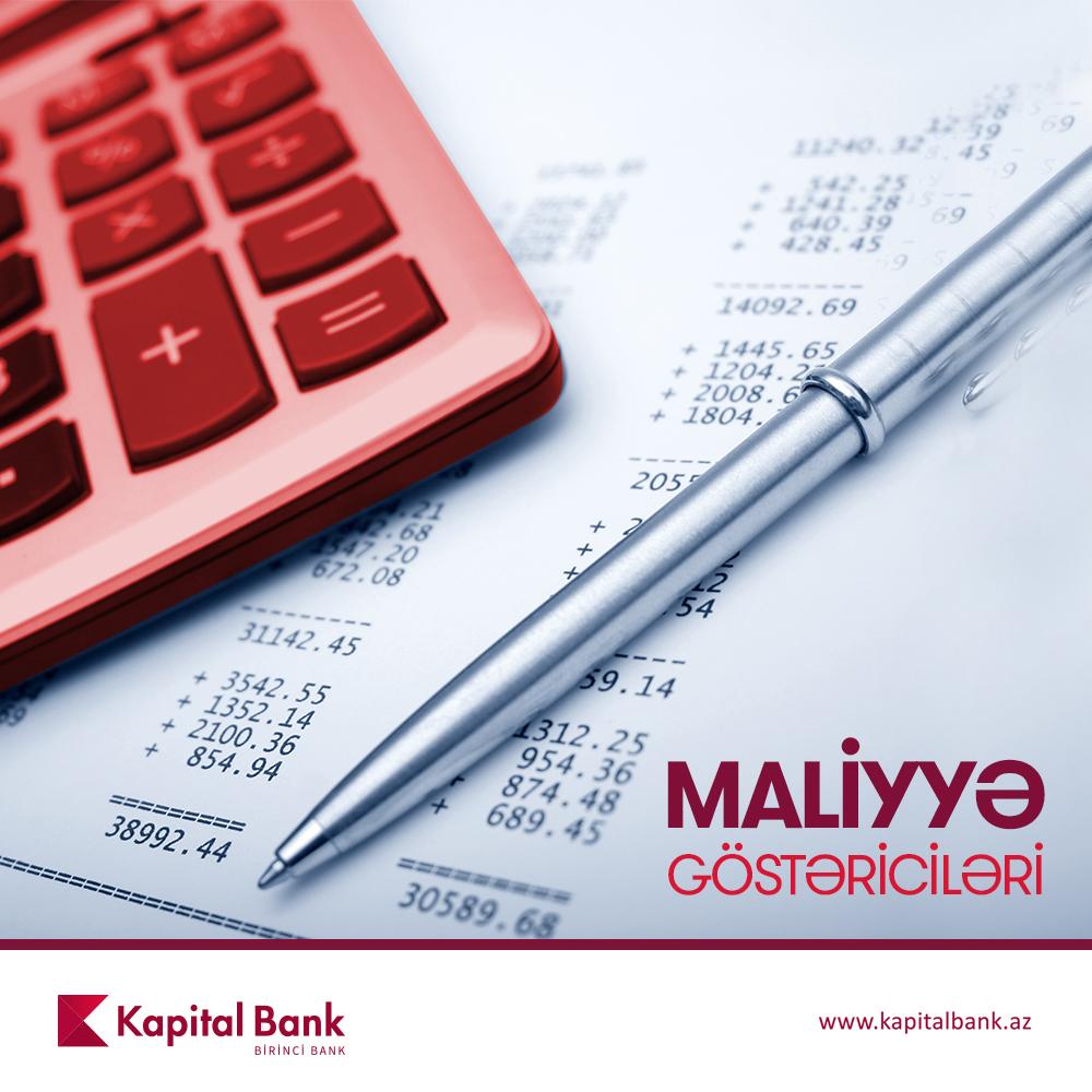 Kapital Bank-ın aktivləri 3,7 milyard manat təşkil edir - HESABAT