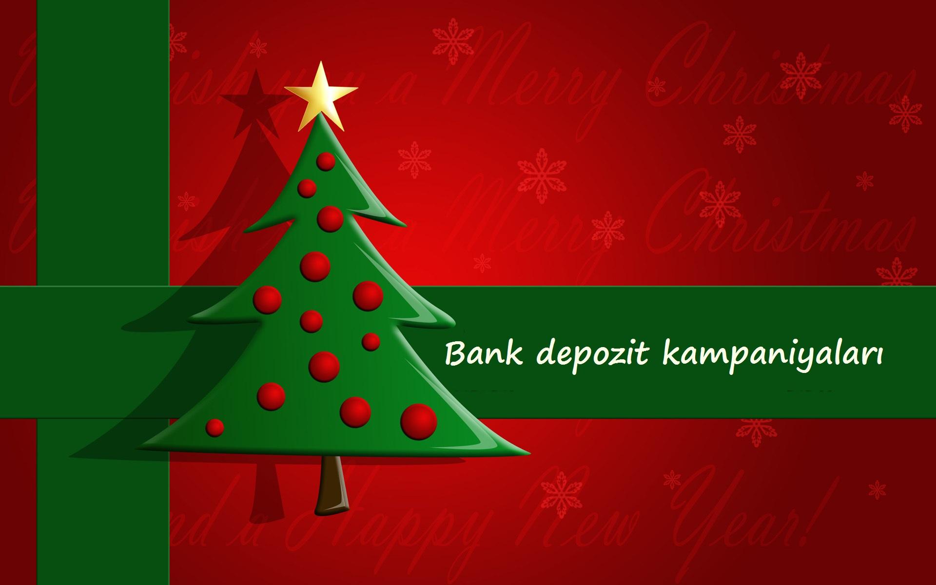 Yeni il ərəfəsində - Bank əmanətləri