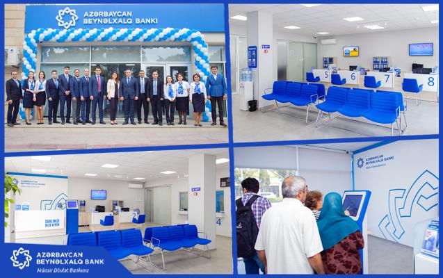 Международный Банк Азербайджана обновил отделение в Мардакянах