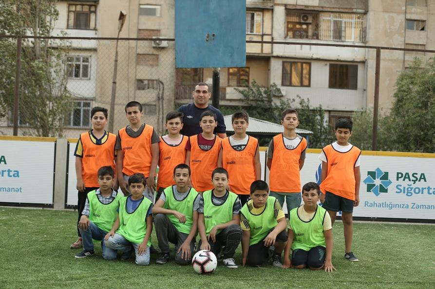 """PAŞA Sığorta AFFA ilə birgə """"Məhəllə Futbolu"""" layihəsinə start verir"""