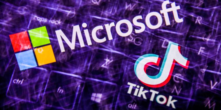 Microsoft TikTok-u satın almağa hazırlaşır