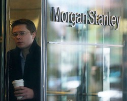 Morgan Stanley выбрался из убытков, получив 880 млн долл. прибыли