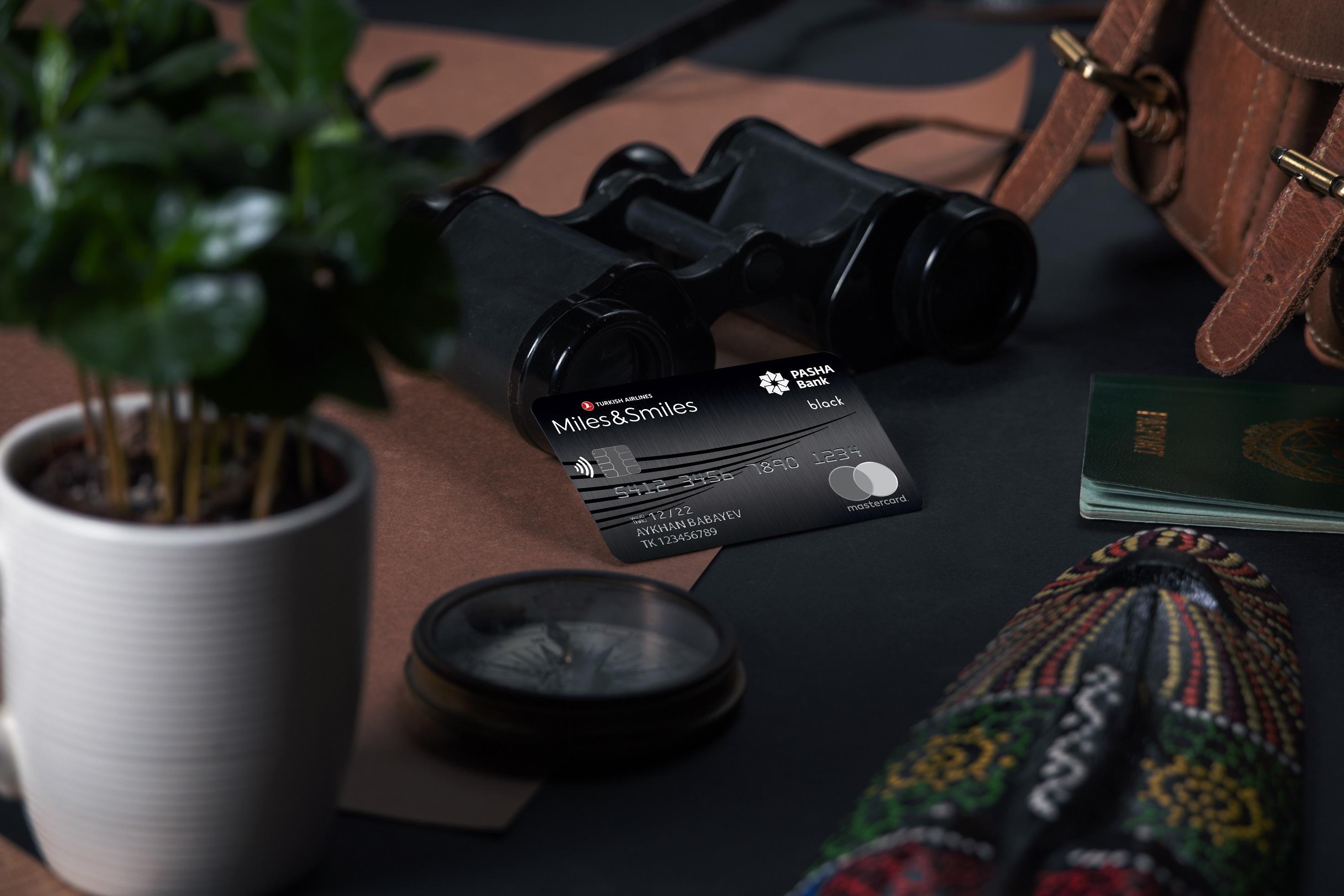 PAŞA Bank Miles&Smiles kartı ilə