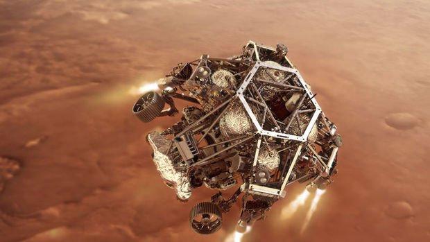 NASA-nın kosmik aparatı MARSA eniş etdi