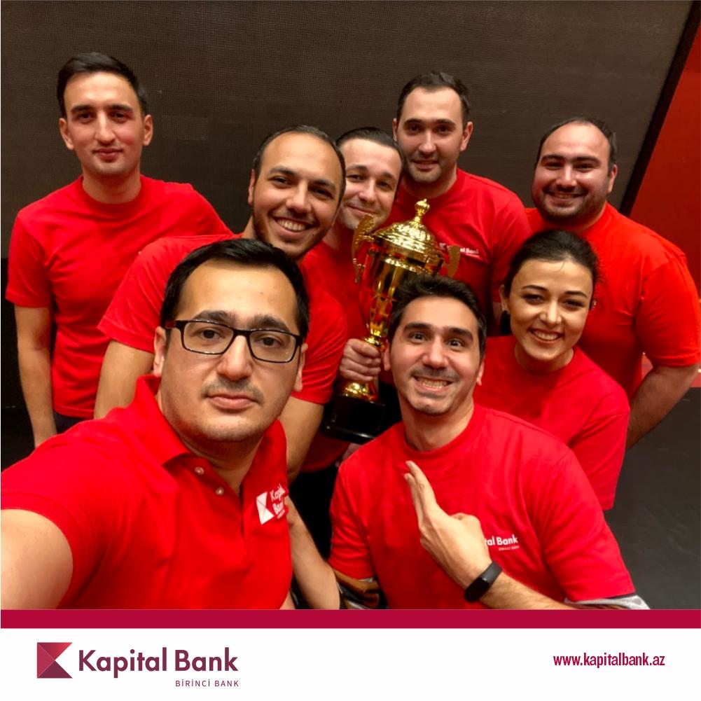 Kapital Bank стал чемпионом